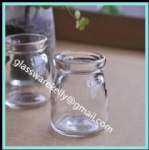 Glass Pudding Bottle