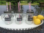 Mason Jar Mug With Chalkboard