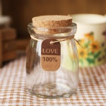 pudding jar with cork