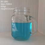 500ml Mason Jar for Juice