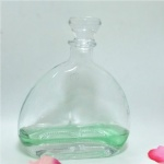 Crystal Glass Bottle With Glass Cap