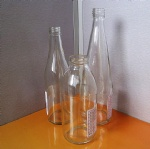300ml,500ml Milk Glass Bottle