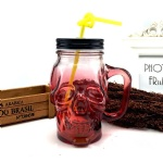 500ml Skull Head Mason Jar